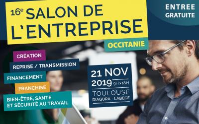 Rencontrez-nous à Toulouse lors du Salon de l'Entreprise Occitanie !