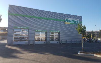 Ouverture d'un centre auto FEU VERT à OLLIOULES (83)