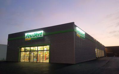 Ouverture du 352ème Centre auto FEU VERT à TESTE-DE-BUCH (33)